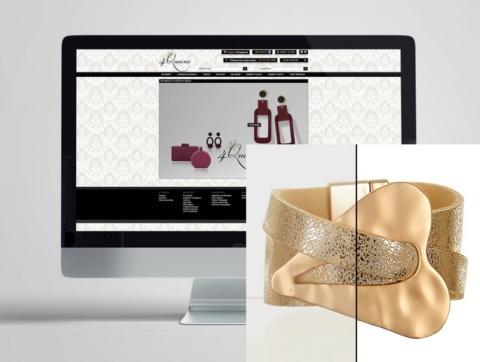 Φωτογράφιση και επεξεργασία για brand με faux bijou.